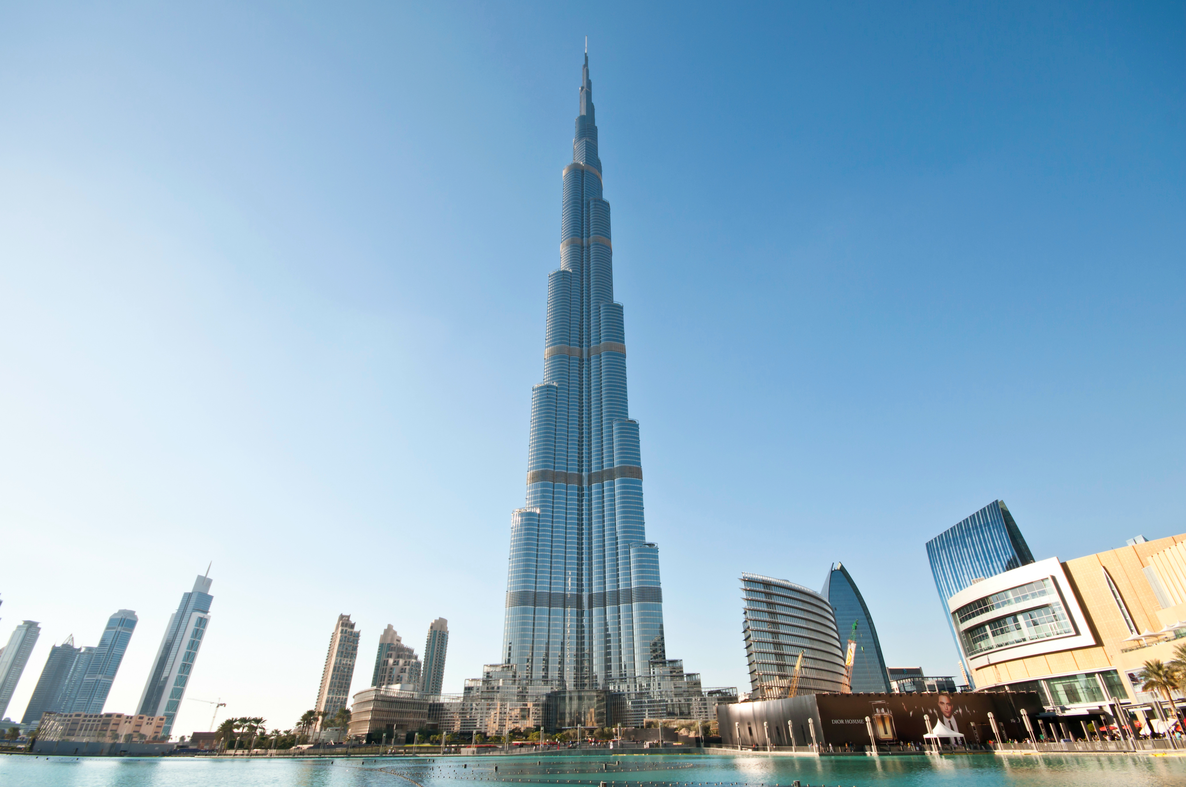 >Burj Khalifa - 124th Floor